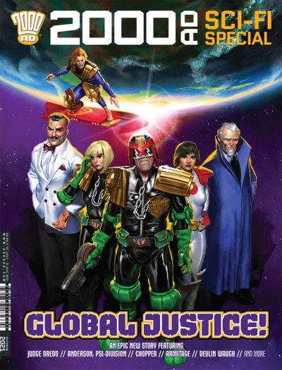 2000 AD Sci Fi Special 2021