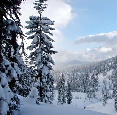 Mount Diller, Lassen NP CA 2/2011