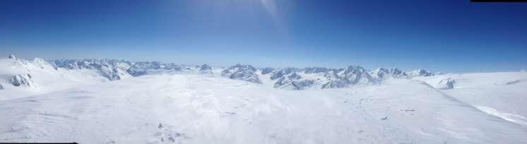 The Tsirku Glacier, April 30th 2014