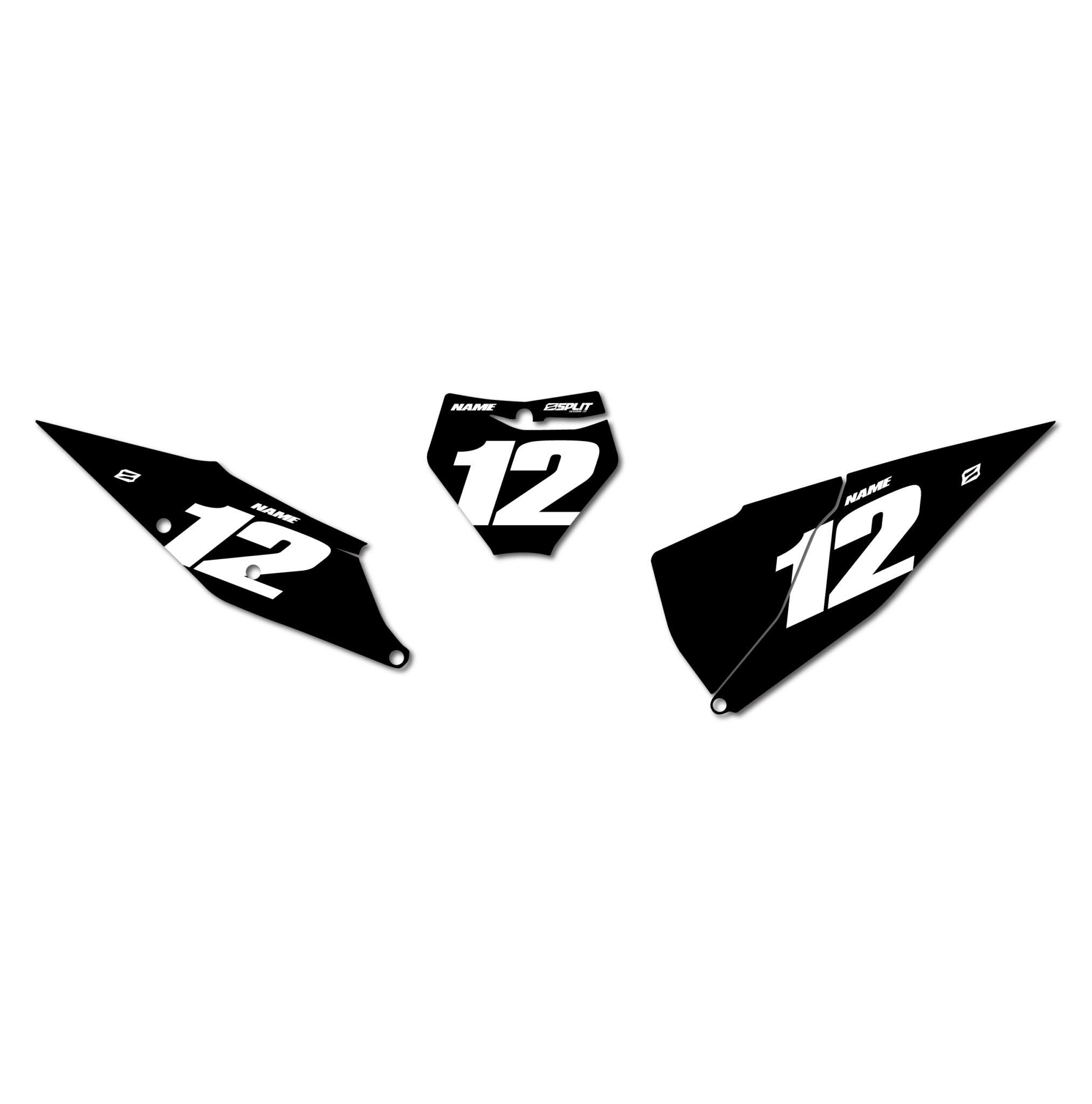 Ktm Privateer Number Boards Split Designs Co
