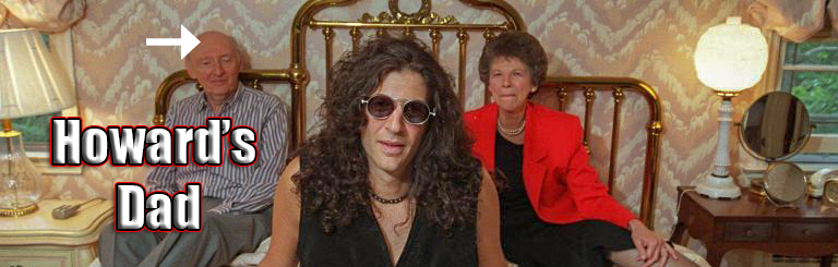 Howard Stern Wears a Wig?