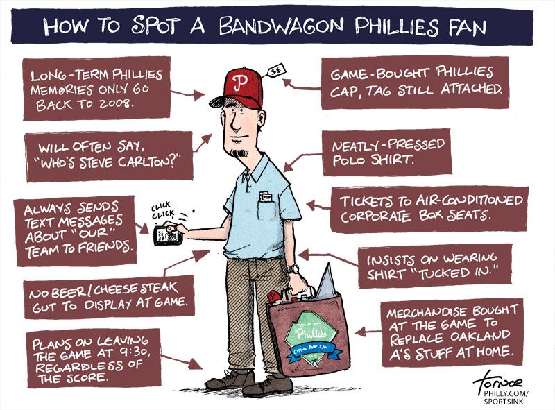 I'm on the Phillies Bandwagon