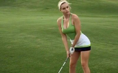 Golfing After a Lesson