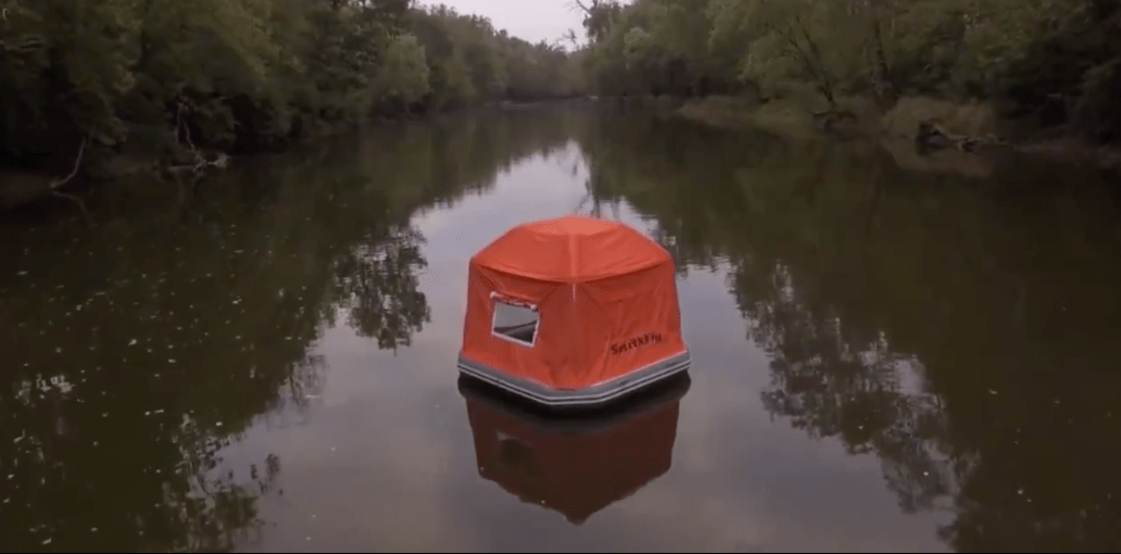 Roasting the Floating Tent