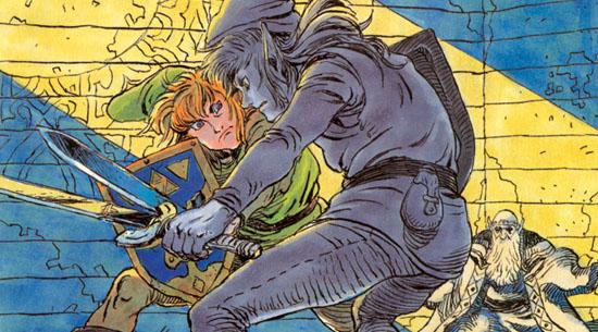 Dark Link Adventure of Link