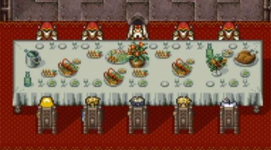 Final Fantasy VI Meeting the Emperor