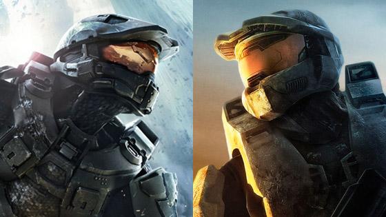 Halo 3 and Halo 4