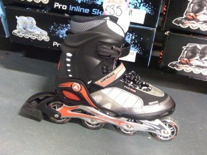 A skate (any type)
