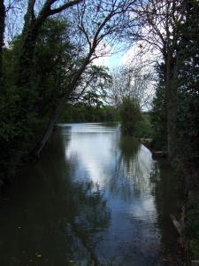 Pretty finishing pond/river