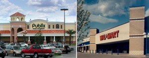 Publix and Walmart in Davenport, Florida