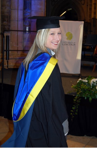 I graduated with an MSc in International Marketing Strategy