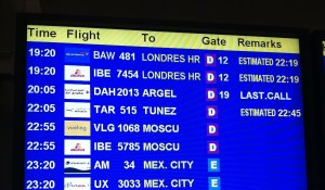 Expected departure 22:19... really?