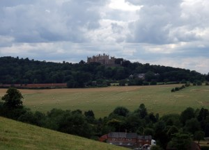 Belvoir Castle from the Viking Way