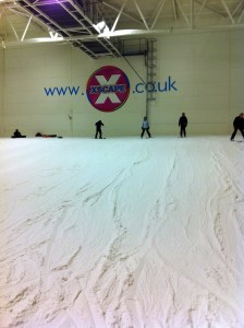 The nursey slope at Xscape in Castleford