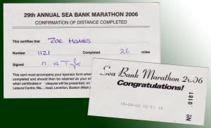 Seabank Marathon Result