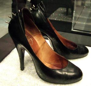Black Spike Sex Shoe (late 1970s)