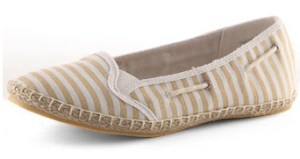 Stripe Deck Shoe Espadrilles