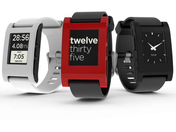 Pebble E-Paper Watch for iPhone