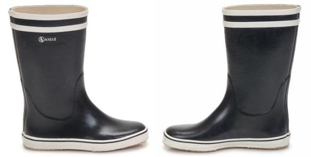 Aigle Malouine Marine Rubber Boots