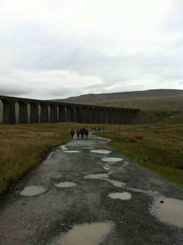 Yorkshire Three Peaks Challenge - Starting towards Whernside