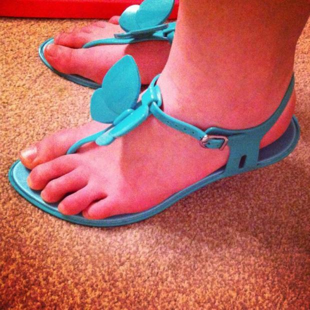 Snap Happy 10th June - Sandals