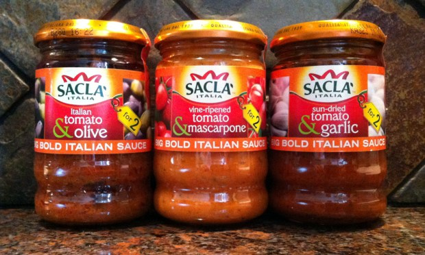 Sacla Stir Through Sauces