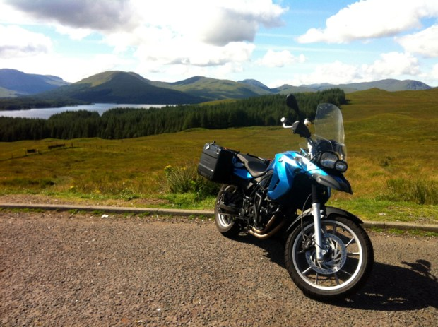 My bike at Glen Coe