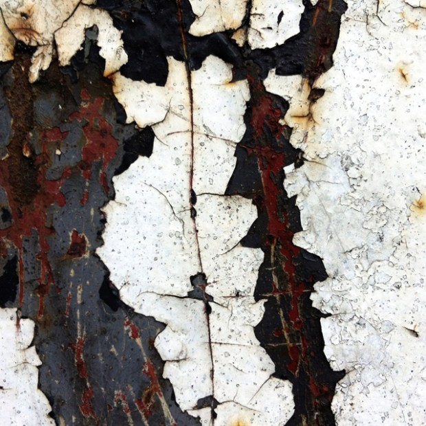 Peeling Paint and Rust - Zoe Homes