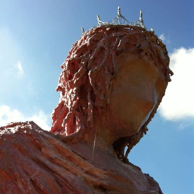 Corpse Bride at Doddington Hall Sculpture in the Gardens