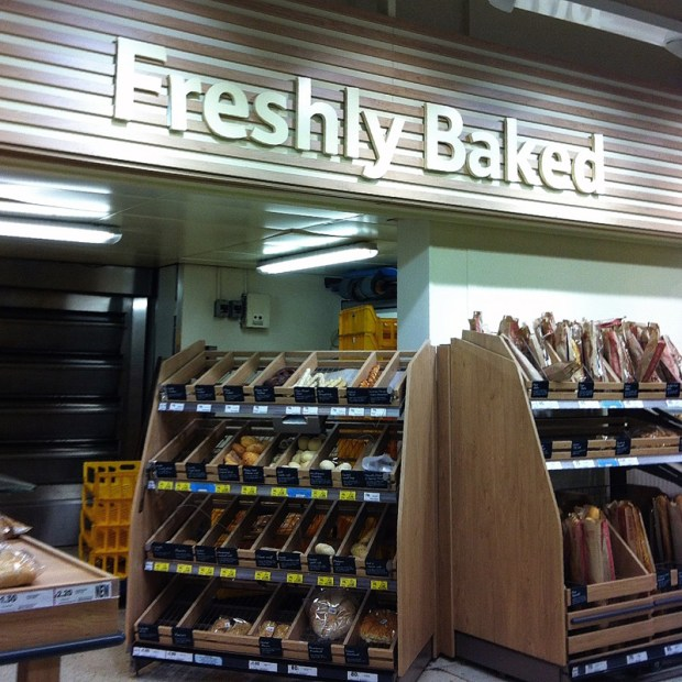 Tesco Bakery in Lincoln
