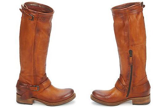 Airstep camel biker boots