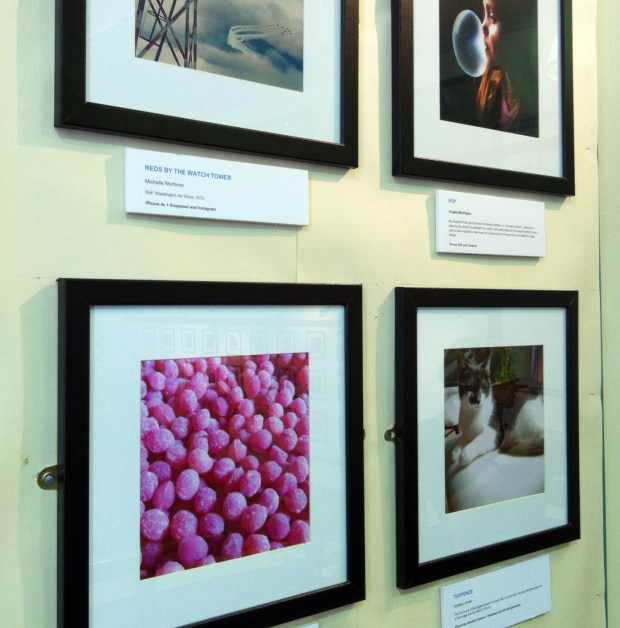 Photos on the wall - sherbet pips