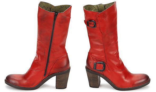 Goldmud Hitra Jiko red boots