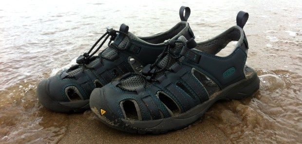 KEEN Turia Sandals and the Waves