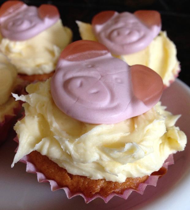 Percy Pig Fairy Cakes