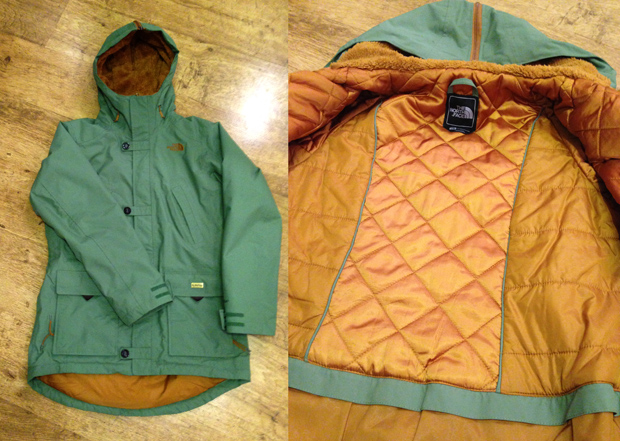 The North Face Women's Honee Snugs Delux Parka