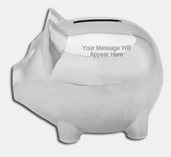 Personalised Piggy Bank from Gifts Online 4U