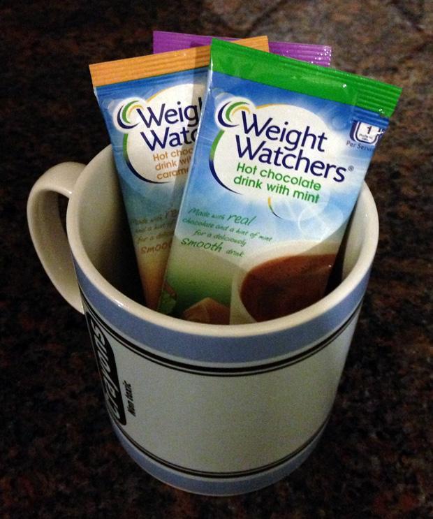 Weight Watchers Hot Chocolate Sachets