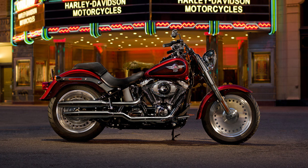 Harley Davidson Fat Boy (image from Harley Davidson)