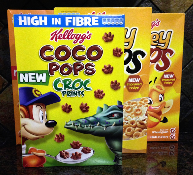 Kelloggs Kids' Cereals
