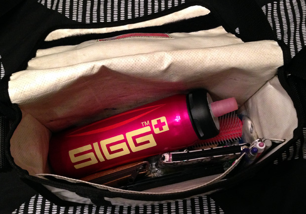 My SIGG Bottle - my new (rather large) handbag staple