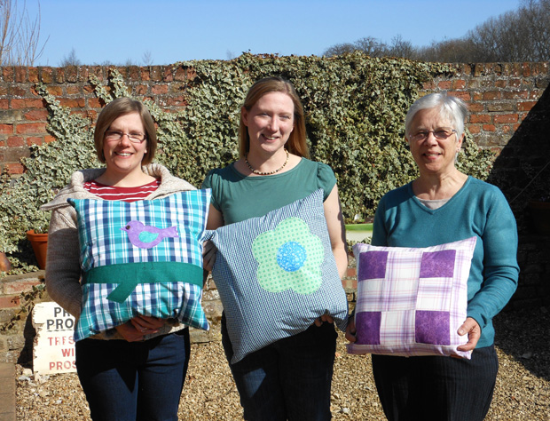 Modelling our Finished Cushions