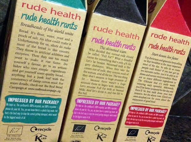 Rude Health Breakfast Rants