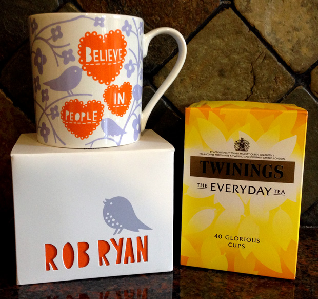Twinings Everyday Tea and Rob Ryan Mug