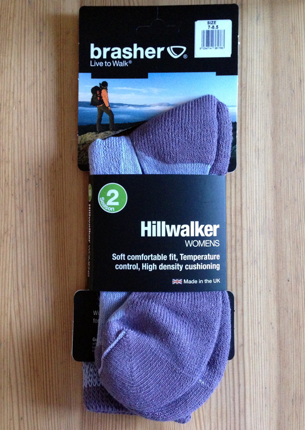 Review: Brasher Hillwalker Socks