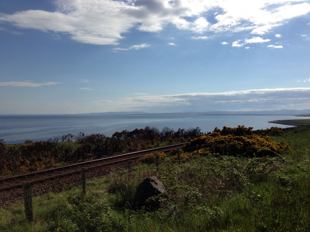From the East Coast of Scotland