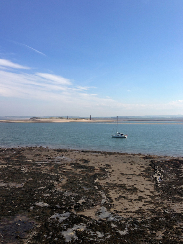 From Holy Island, Northumberland