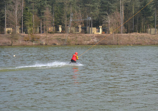 First time on the Cable Ski