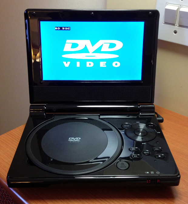 Currys Essentials Portable DVD Player