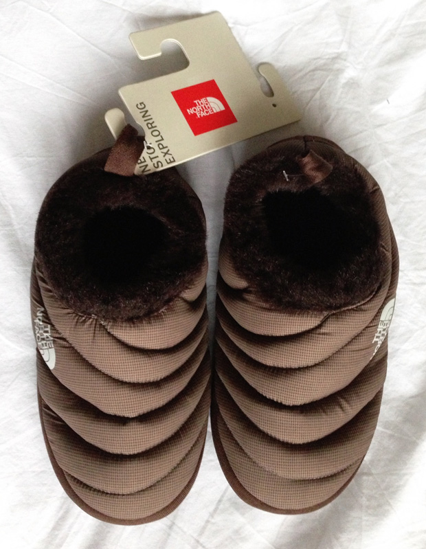 New Slippers (The North Face Tent Mule)